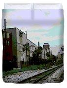 Orlando Tracks Duvet Cover