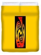 Ornamental Vase - Fire Duvet Cover
