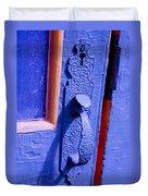 Ornate Blue Handle 2 Duvet Cover