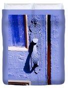 Ornate Door Handle Duvet Cover