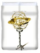 Orrery Illustration Duvet Cover by Science Source