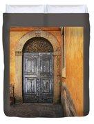 Orvieto Doorway Duvet Cover
