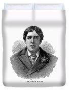 Oscar Wilde (1854-1900) Duvet Cover