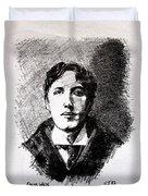 Oscar Wilde Duvet Cover