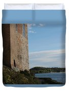 Oslo Castle And Harbor Duvet Cover