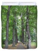 Oslo Trees Duvet Cover
