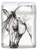 Ostragon Polish Arabian Horse 1 Duvet Cover
