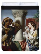 Othello And Desdemona Duvet Cover