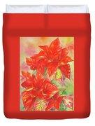 Other Poinsettia Duvet Cover