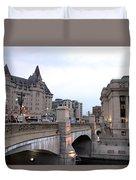Ottawa Night View Duvet Cover