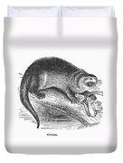 Otter, 1873 Duvet Cover