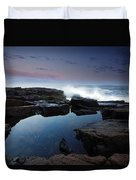 Otter Point Reflections II Duvet Cover