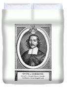 Otto Von Guericke (1602-1686) Duvet Cover