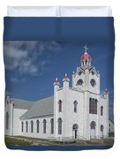 Our Lady Of Mercy Duvet Cover