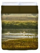 Out Of Here Duvet Cover