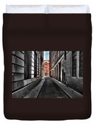 Out Of The Alley Duvet Cover