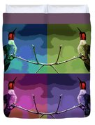 Out On A Limb - Serigraph Duvet Cover