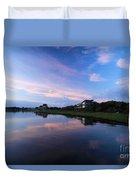 Outer Banks Sunrise Duvet Cover