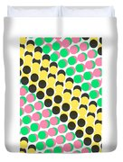 Overlayed Dots Duvet Cover