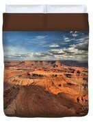 Overlooking Dead Horse Point Duvet Cover