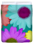 Oversize Daisies Two Duvet Cover