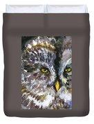 Owl Eyes Duvet Cover