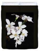 Oxalis Flowers 3 Duvet Cover