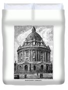 Oxford: Radcliffe Library Duvet Cover
