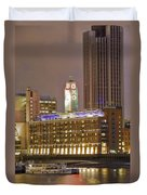 Oxo Tower Night   Duvet Cover