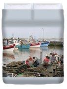 Oyster Harvest Duvet Cover