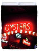 Oysters Duvet Cover