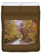 Pachaug State Forest Duvet Cover