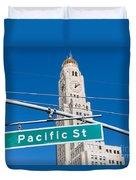 Pacific Street I Duvet Cover