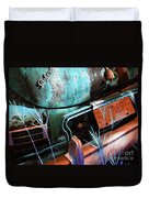 Packard On Ice Duvet Cover