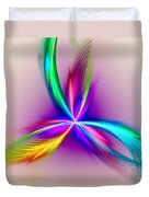 Pacock-feathers Duvet Cover