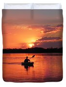 Paddle To Home Duvet Cover