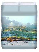 Padres Island National Park Beach Duvet Cover