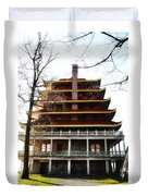 Pagoda Reading Pa. Duvet Cover