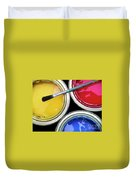 Paint Cans Duvet Cover