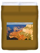 Painted Grand Canyon Before Sunset Duvet Cover