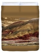 Painted Hills Grooves Duvet Cover