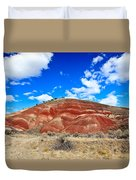 Painted Hills In Eastern Oregon Duvet Cover