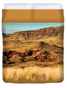Painted Hills In Sheep Rock Duvet Cover