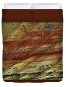 Painted Hills Lines Duvet Cover