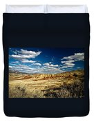 Painted Hills Oregon Duvet Cover
