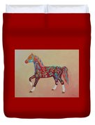 Painted Horse A Duvet Cover