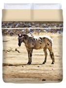 Painted Horses II Duvet Cover