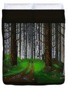Painted Lady Migration Duvet Cover