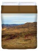 Painted Landscape Duvet Cover