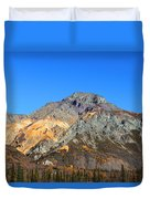 Painted Mountains Duvet Cover